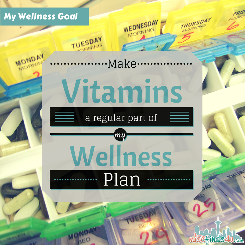 Making Vitamins Part of my Wellness Plan - I need something to keep me keep my healthy choices on track. My health goals don't include running a marathon, they're all about wellness and doing what's right for my body #BalanceRewards #shop #cbias