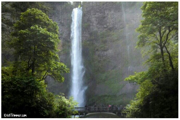 west coast waterfall