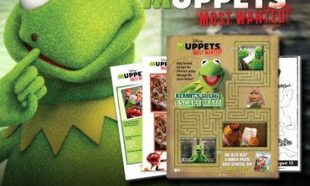 Free MUPPETS MOST WANTED Activities, Games, and How to Draw Tutorials