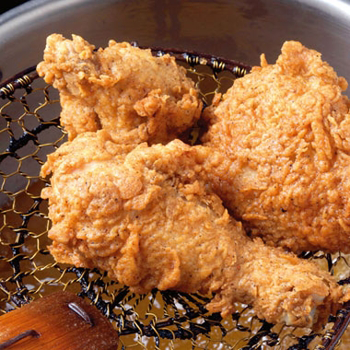 Rosemary Brined Buttermilk Fried Chicken by Epicurious