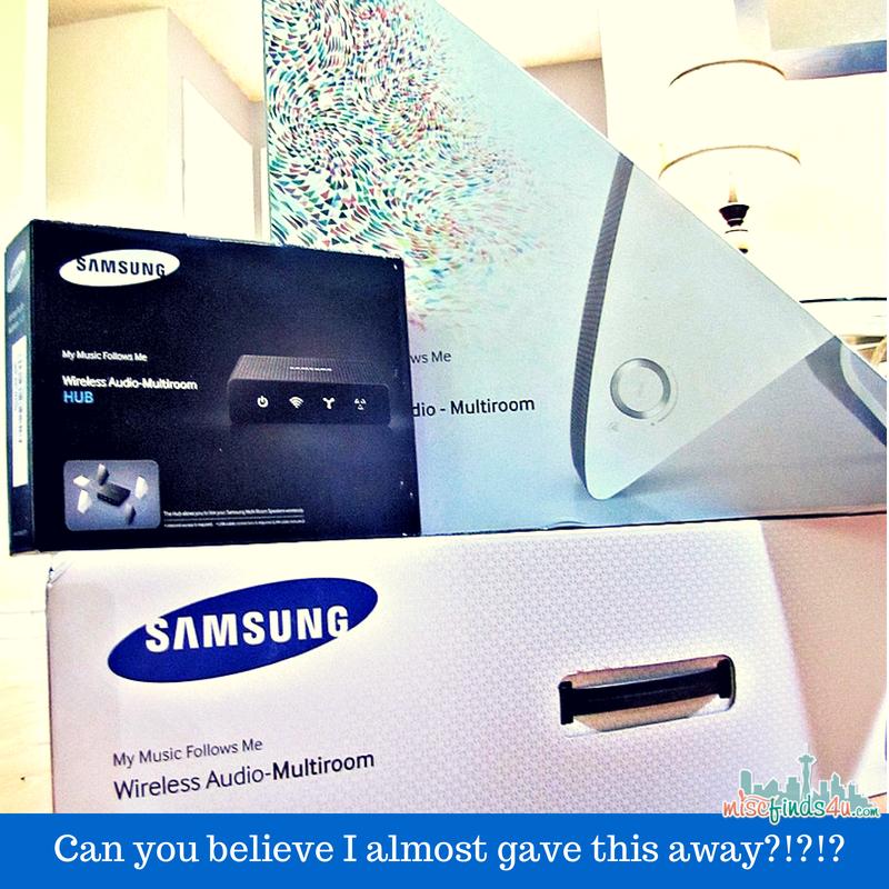 Samsung Shape M7 Wireless Speaker System - August Audio Fest at Best Buy @BestBuy #AudioFest ad