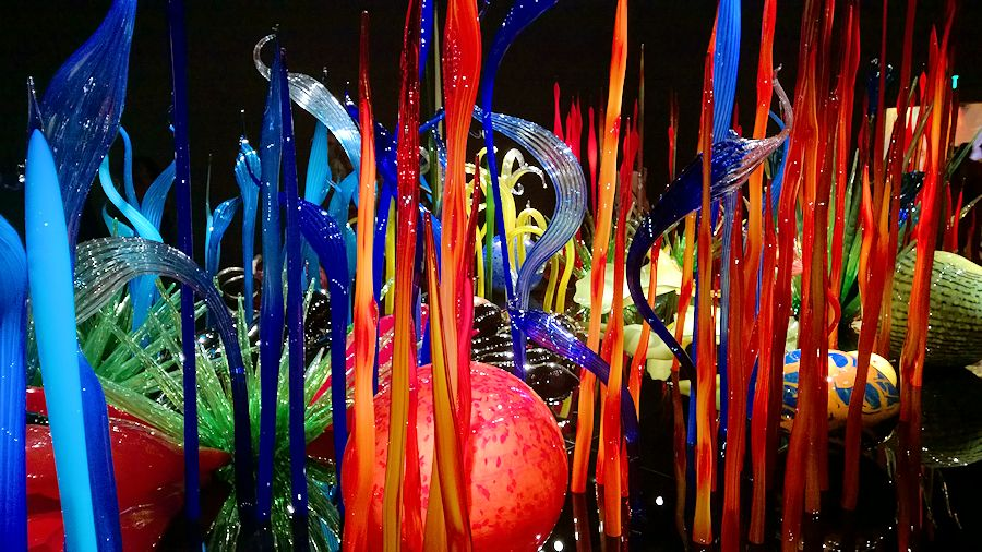 Seattle Chihuly Garden and Glass Exhibit - Mille Fiori Gallery