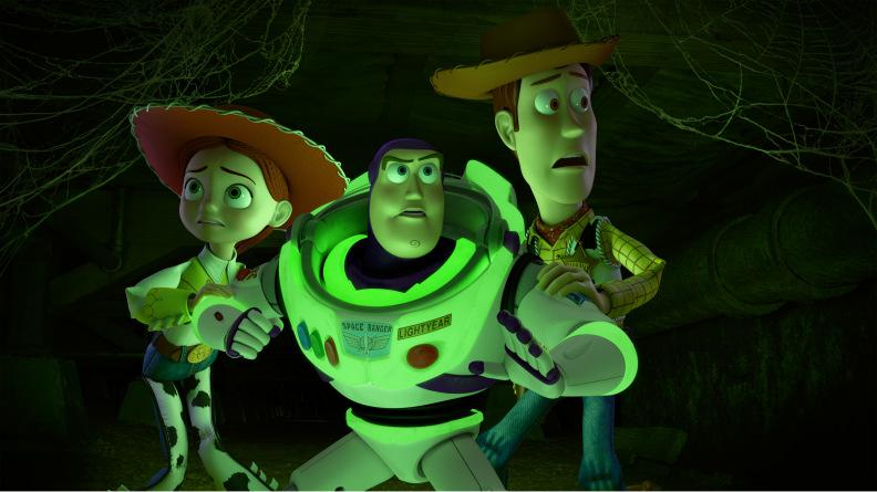 """""""Toy Story OF TERROR!"""" (Disney/Pixar 2013).JESSIE, BUZZ LIGHTYEAR, WOODY"""