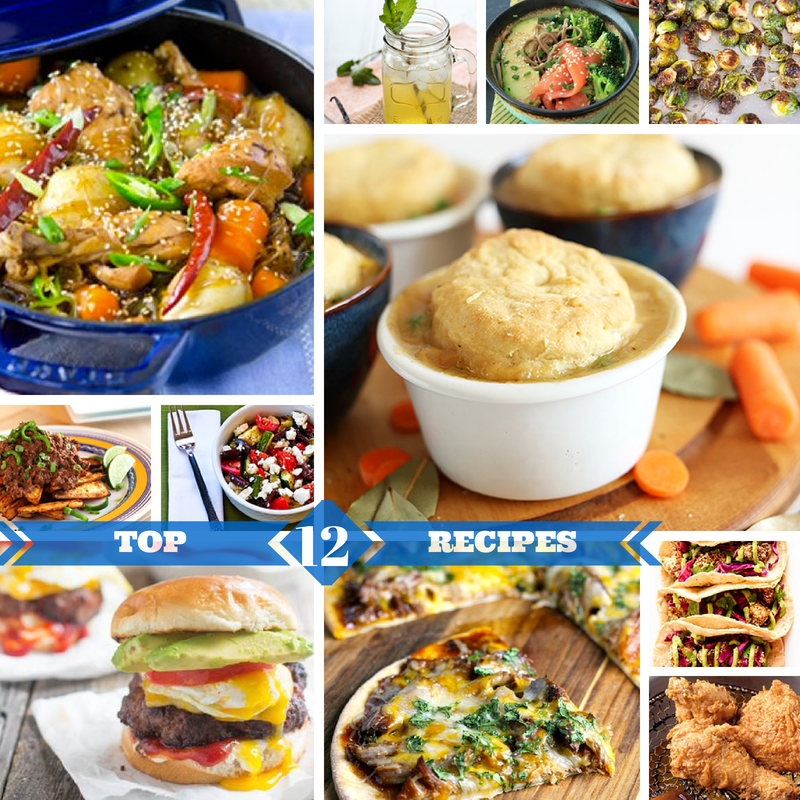 Top 12 Recipes Of The Week Via ZipList
