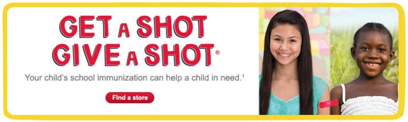 School Immunizations: Walgreens No Appointment Vaccinations #GiveaShot #CollectiveBias @shotatlife Ad