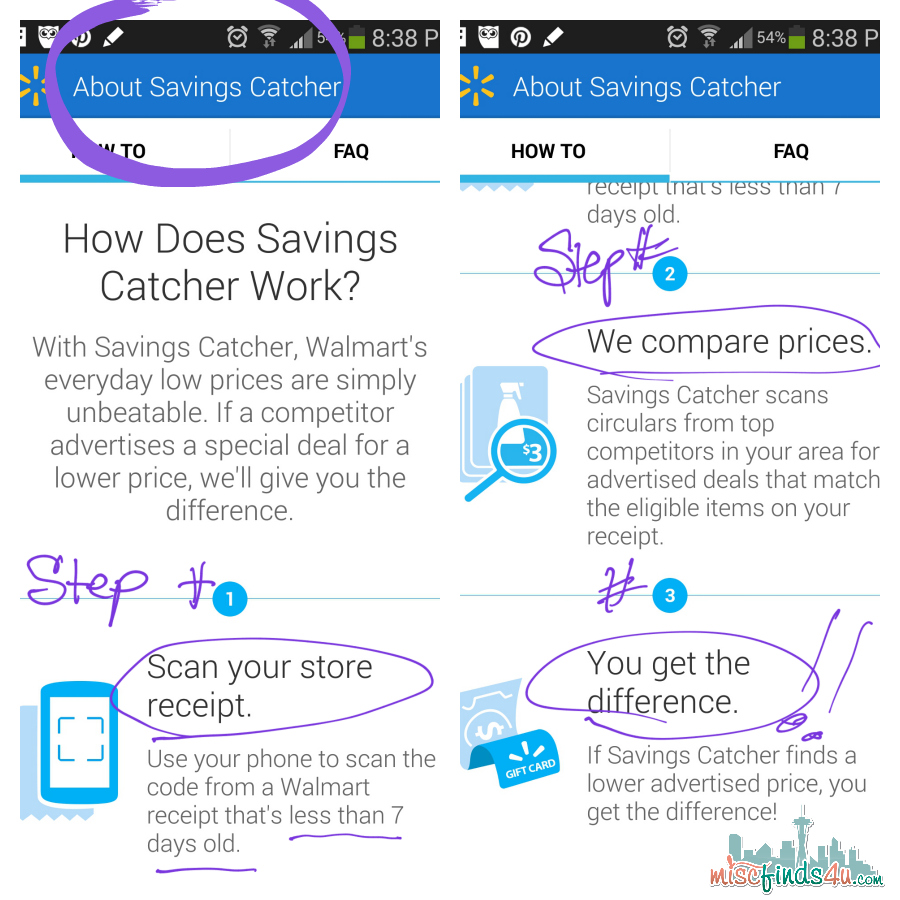 Walmart Savings Catcher - Price Matching -ad
