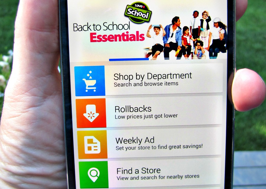 Walmart Smartphone App: Click – Save – Delivered #giveaway
