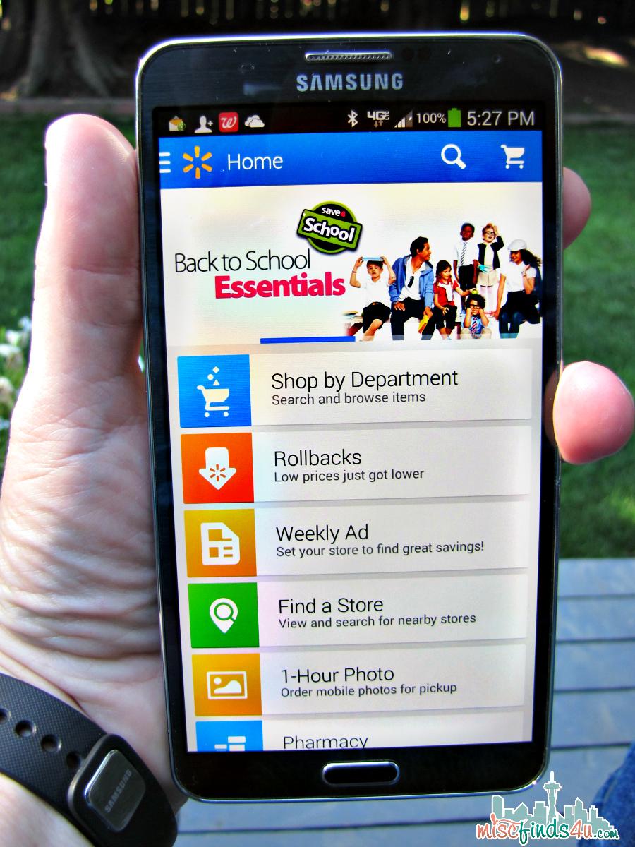 Walmart Smartphone App - spon
