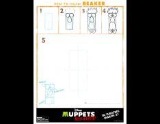 how to draw beaker