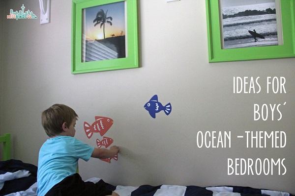 Ideas for Boys Bedroom Decor: Ocean-Themed Room Wee Decor - ad