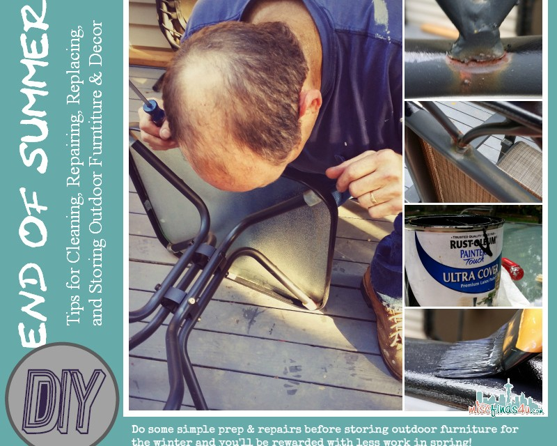 Outdoor Furniture: Clean, Repair, Replace, and Store Tips #Giveaway @BrylaneHome