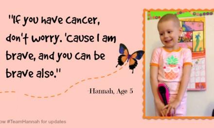 Hannah Higgins Has A Message About Cancer #teamhannah