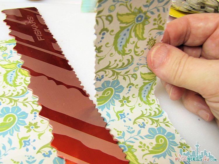 Decopauge - tearing paper