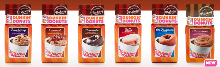 Dunkin Donuts Coffee Bakery Series: Cinnamon Coffee Roll