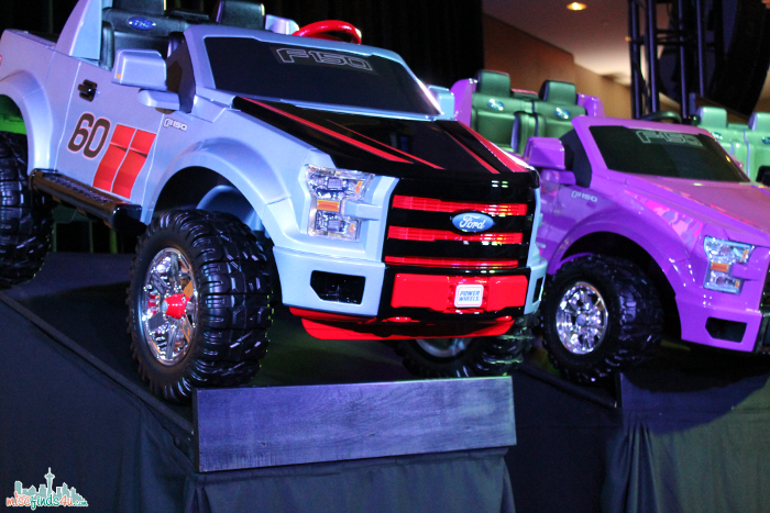 F150 Power Wheels closeup