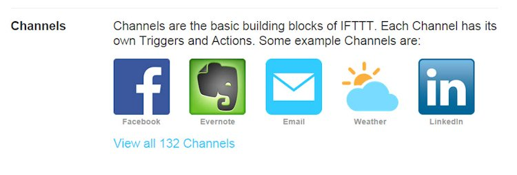 IFTTT Channels Explained