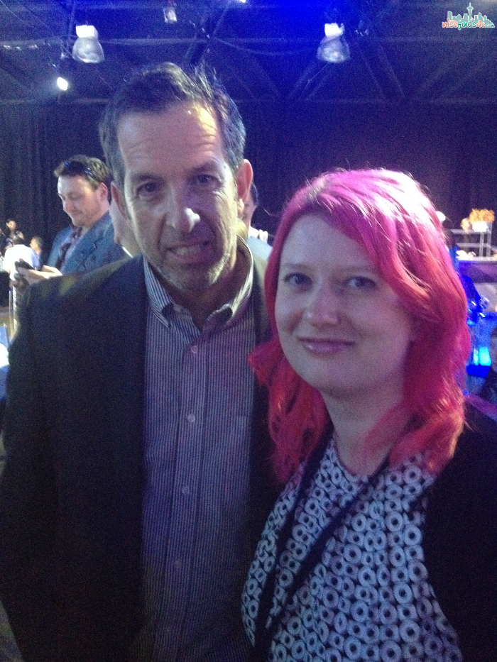 Beeb meets Kenneth Cole