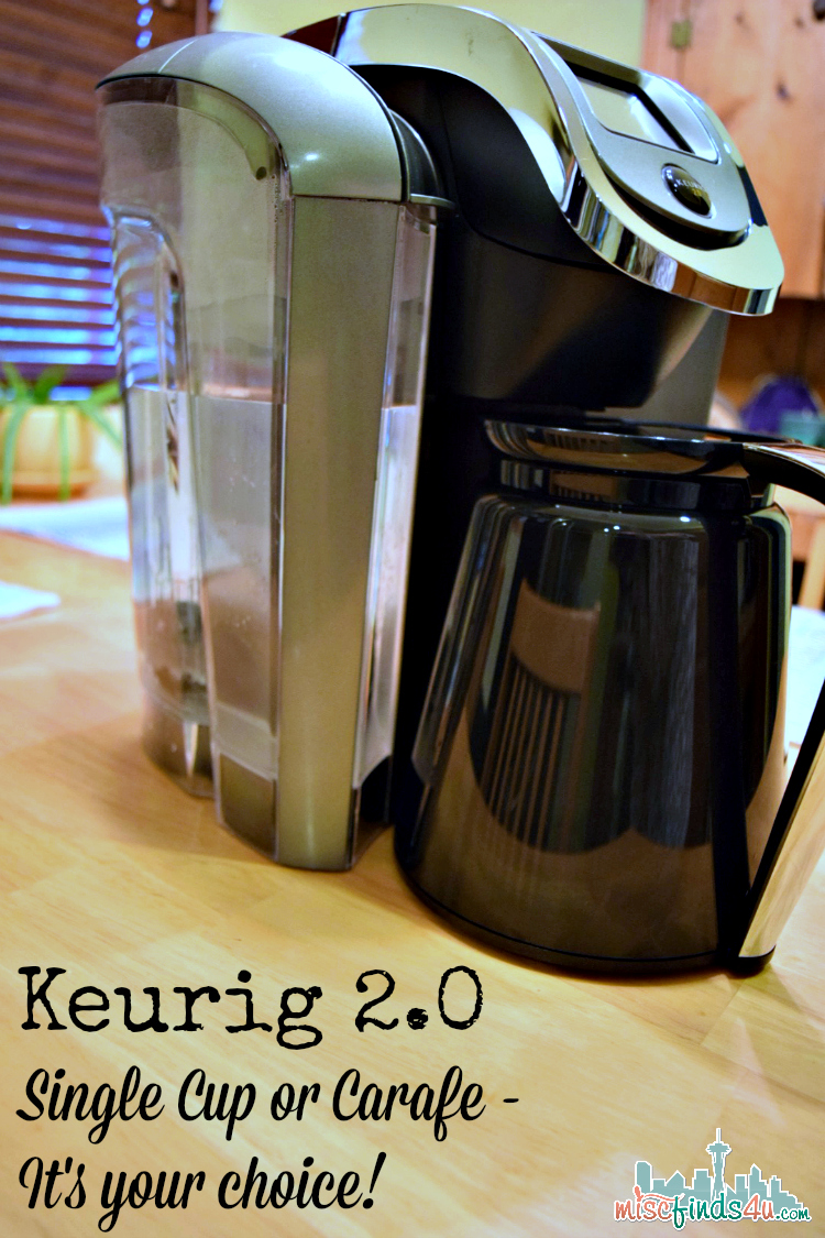 Keurig 2.0 Coffee Maker - Cup or Carafe? #Sweepstakes #HelloKeurig @Khols @Keurig #Sponsored