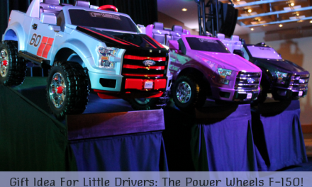 Gift Idea For Little Drivers: The Power Wheels F-150 #FurtherWithFord