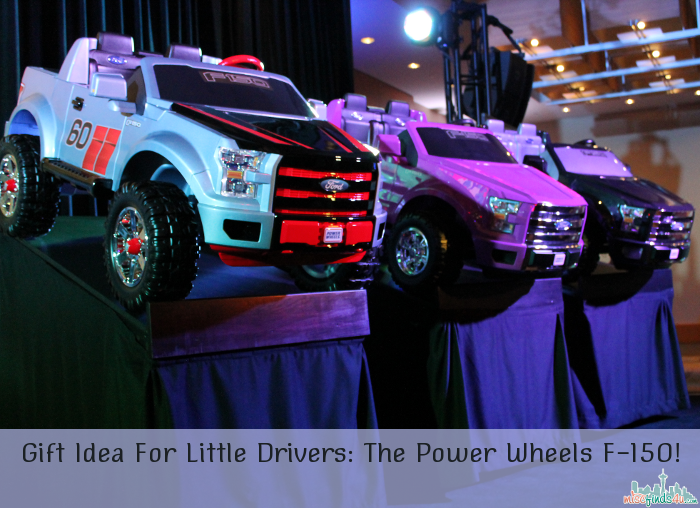 Gift Idea For Little Drivers: The Power Wheels F-150