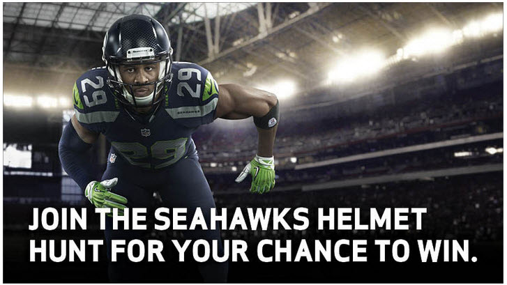 Seahawks Helmet Hunt