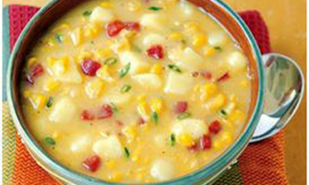 Ham, Sweet Corn, and Potato Chowder Recipe