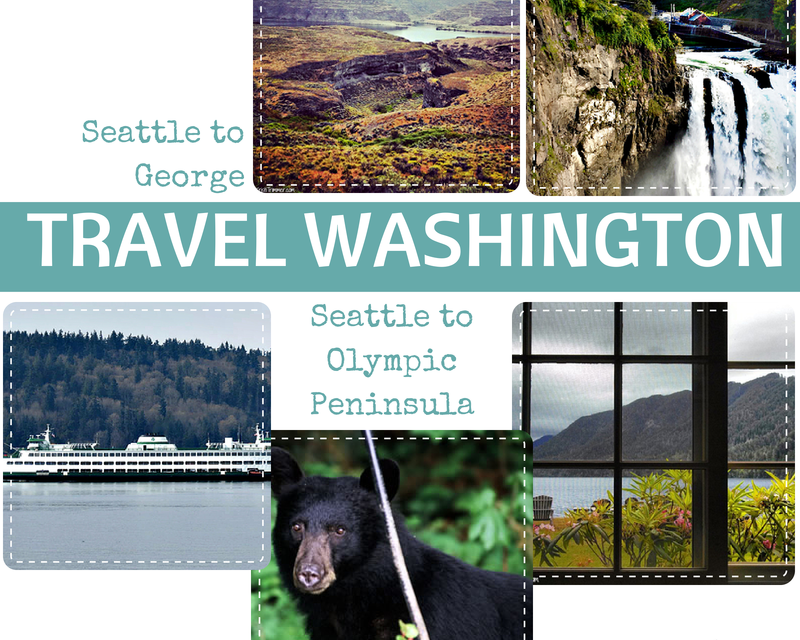 Travel Washington: Two Road Trips – East or West