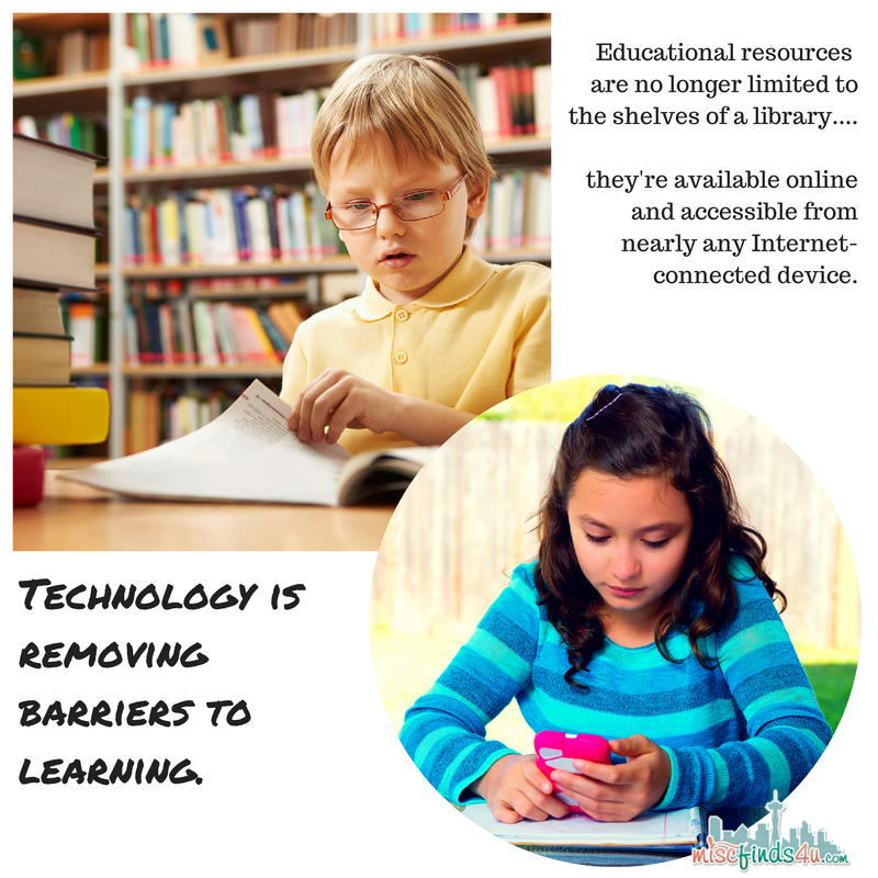 Technolgy Removing Barriers to Learning - Verizon Educational Tools: Customized Student App Resources #VZWEducation ad