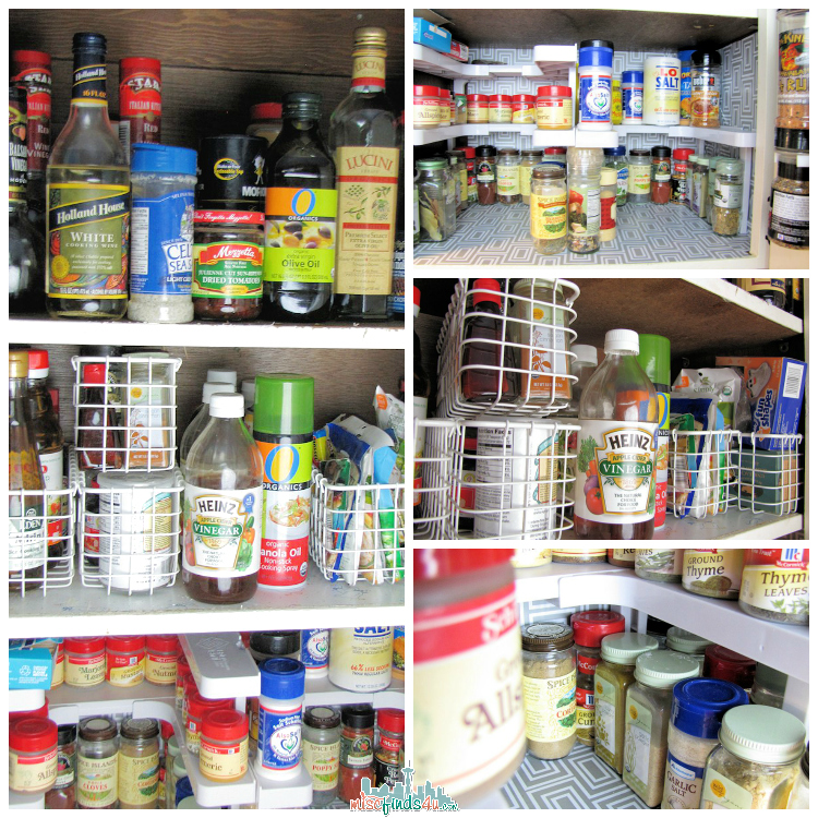 Spicy Shelf Stackable Organizer - Cabinet Makeover  - After - ad