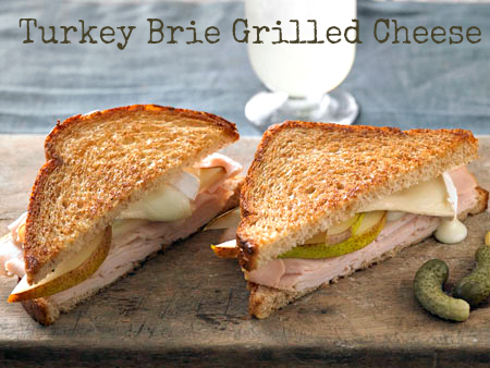 Turkey & Brie Grilled Cheese Recipe - #BakedFreshLocally #sponsored #MC