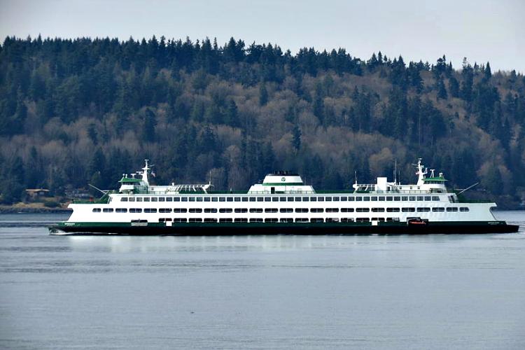 Jumbo-class ferry MV Spokane, 2013 via Wipipedia