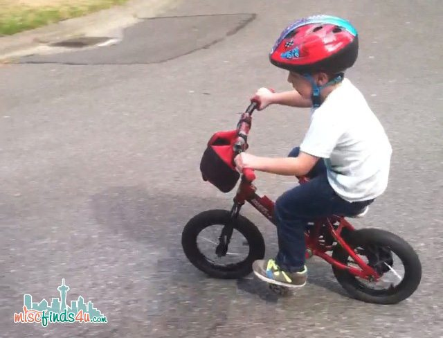 Learn the easy way to ride a bike without training wheels