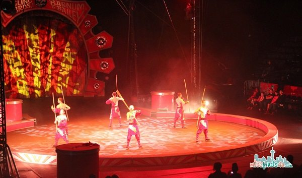 Martial Arts at Ringling Brothers Circus - Things To Do With Kids In Seattle: Go To The Circus #Seattle  ad