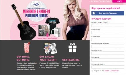 Miranda Lambert Platinum Points Program