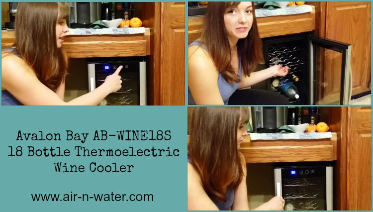 Avalon Bay Wine Cooler AB-WINE18S Review from air-n-water.com - ad