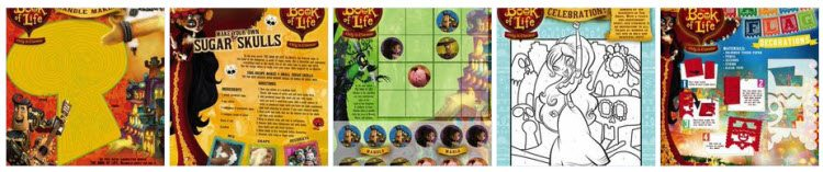 Book of Life Activity Sheets