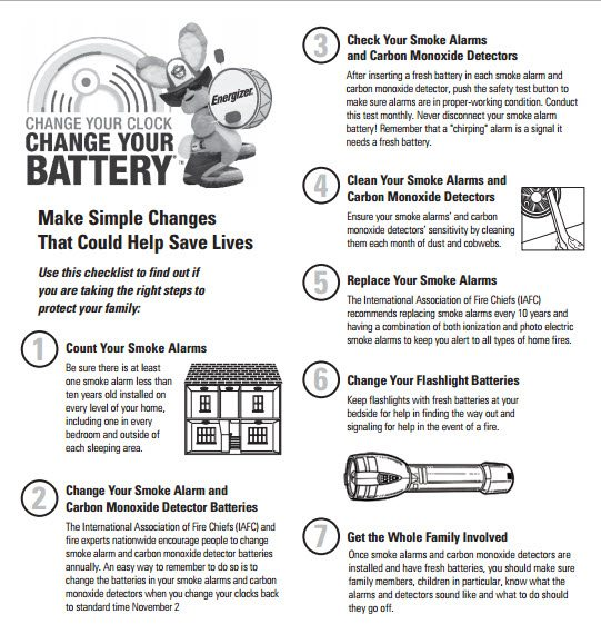 How To Change Your Clock Change Your Battery  -