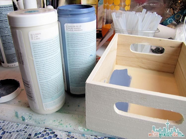 DIY Baby Bath Gift Box - inside