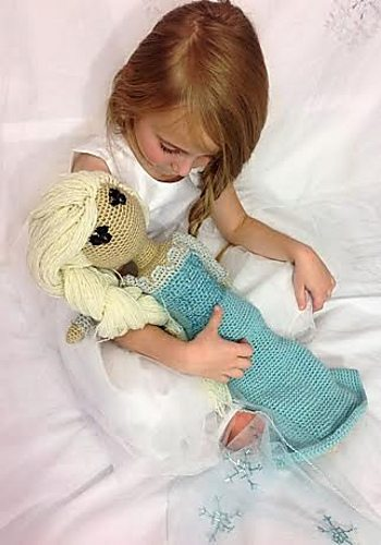 Disney Frozen Elsa Crochet Pattern $4.99