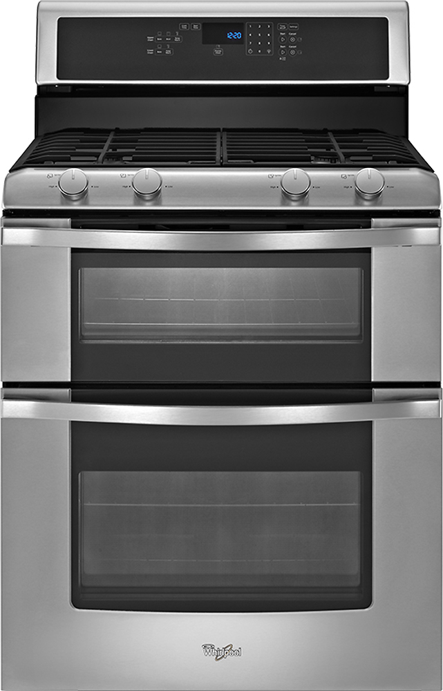 Whirlpool WGG555S0BS Double Oven Range -  Prep for the Holidays with Appliances from Best Buy ad
