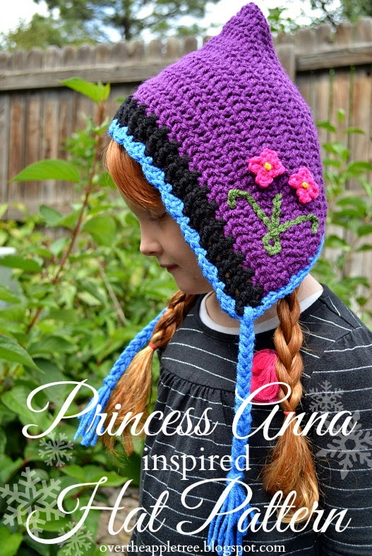 Free Crochet Patterns For Disney Hats : Free-Crochet-Pattern-Anna-Hood.jpg