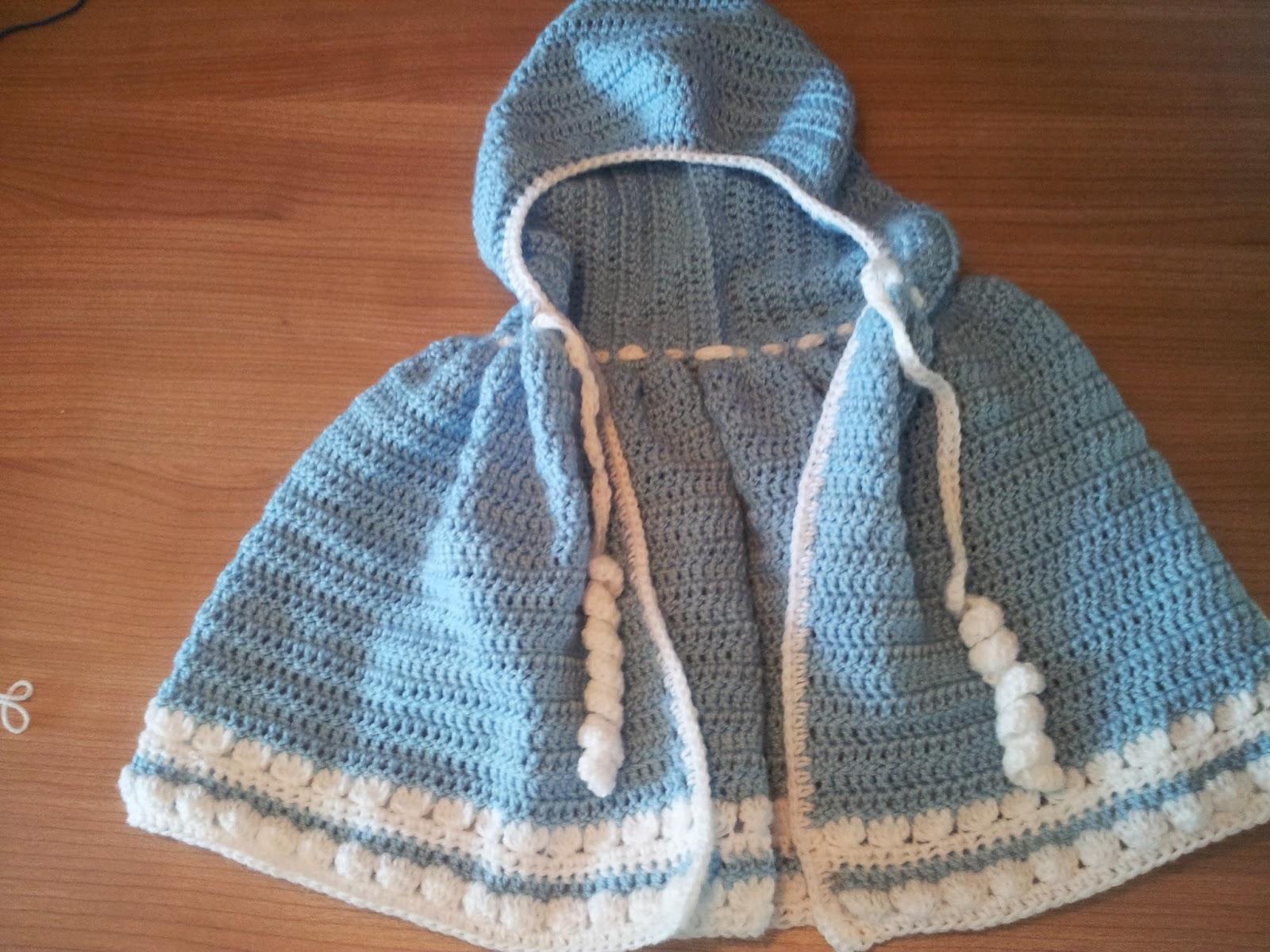 Free Crochet Pattern - Baby Cloak