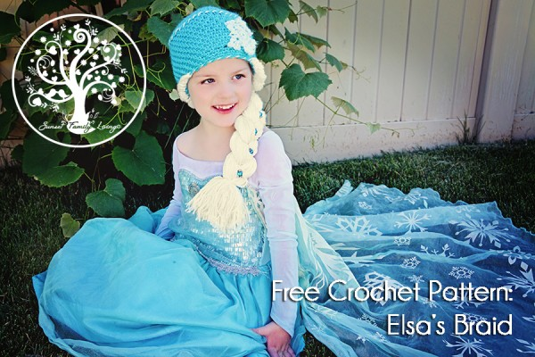 Free Crochet Pattern - Elsa's Braid by Sunset Family Living