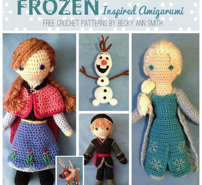 FREE Frozen Crochet Patterns: Inspired by the Disney Movie