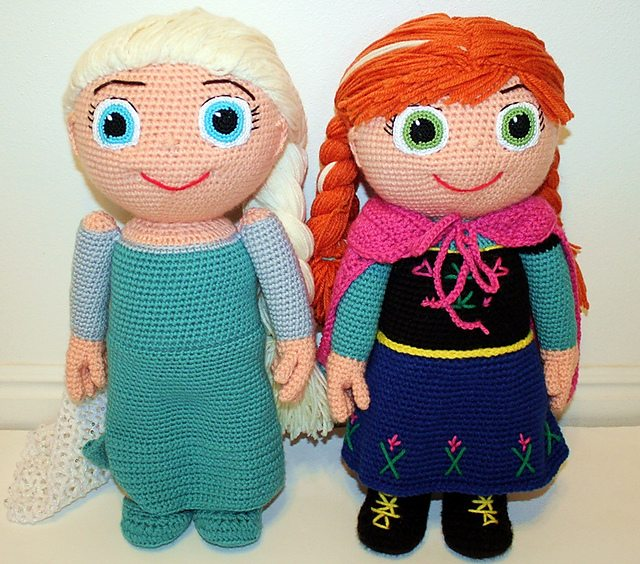Disney's Frozen Crochet Roundup of the best FREE patterns – woollypops | 564x640