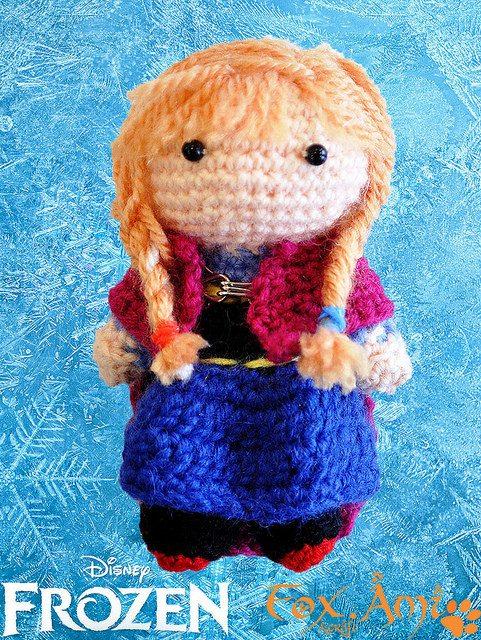 Amigurumi Crochet Frozen : FREE Frozen Crochet Patterns: Inspired by the Disney Movie