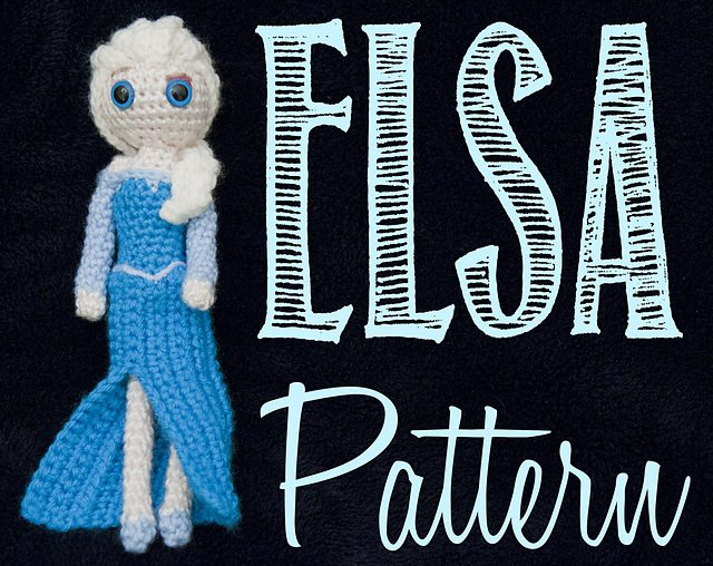 Elsa (Frozen) Amigurumi Crochet Pattern by Allison McDonough - Pattern $4