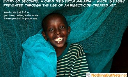 Nothing But Nets – Donate $10 to Save a Life @nothingbutnets
