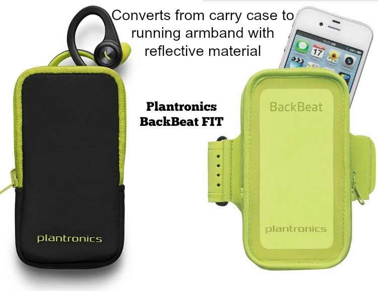 Convertible Case - BackBeat FIT Wireless Headphones - Great Sound & Stay-put Style #VZWBuzz ad