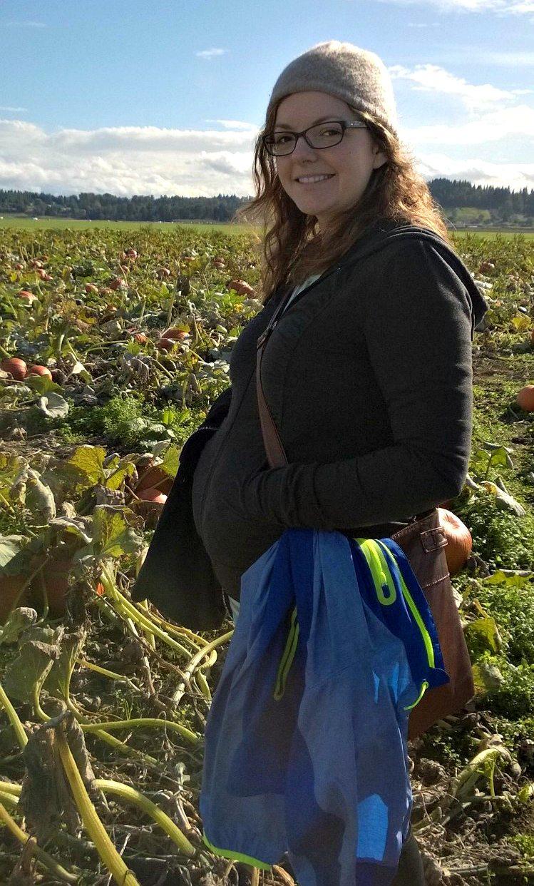 Pumpkin Patch - 6 months pregnant